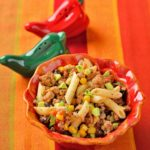 Mexican-Spiced Ground Turkey, Mezze Penne, Black Beans, Corn, Avocado & Salsa-1