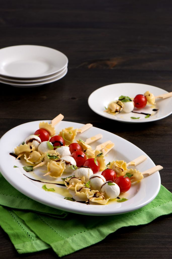 Tortellini Antipasto Skewers Appetizer Recipe